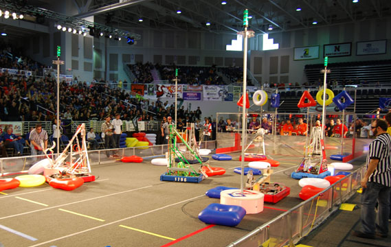 Long Island Regional FIRST Robotics Competition to be Held March 29-31
