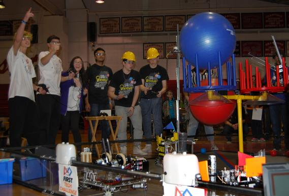 FIRST Tech Challenge Velocity Vortex - Syosset