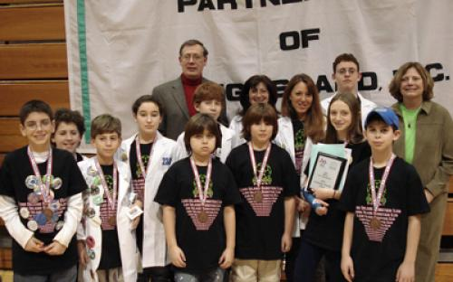 The winner of the Brookhaven National Laboratory Technology Transfer Award was Team 2343, Long Island Robotics Club, from Plainview.